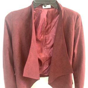 TOBI waterfall jacket. Worn once.